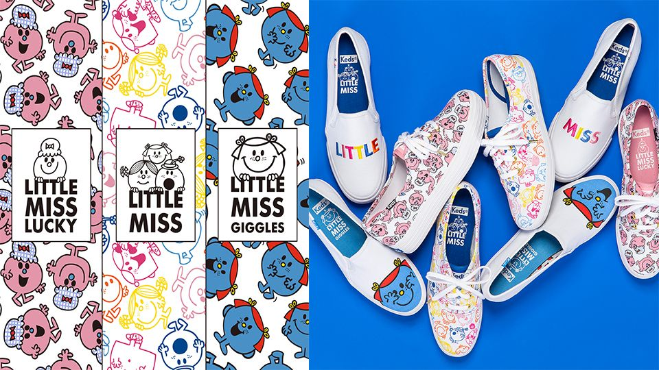 Keds X LITTLE MISS新款上市