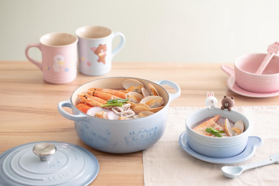 Le Creuset x LINE FRIENDS聯名餐具